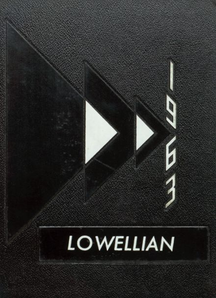 1963 Lowell High School Yearbook Cover