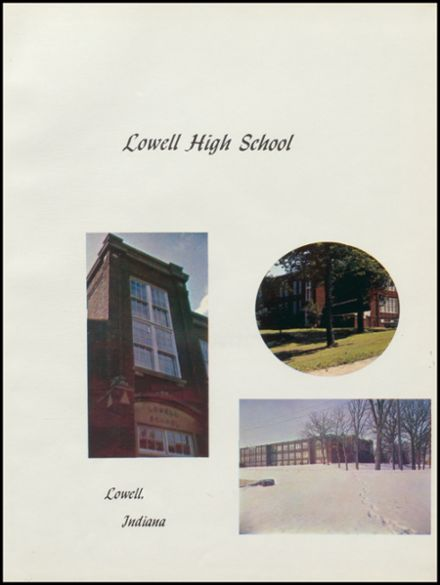 1963 Lowell High School Yearbook Page 5