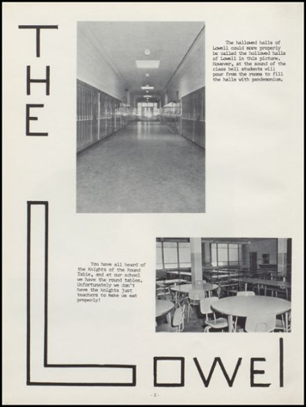 1963 Lowell High School Yearbook Page 6
