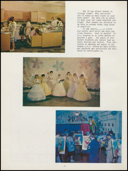 1963 Lowell High School Yearbook Page 8