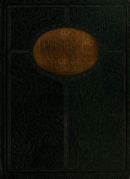 1929 Long Beach Polytechnic High School Yearbook Cover