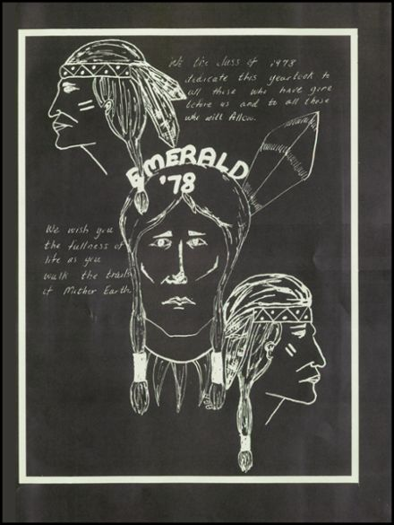 1978 Donegal High School Yearbook Page 5