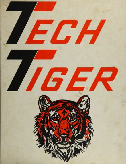 1977 Technical High School Yearbook Cover