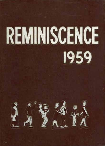 1959 Harrison High School Yearbook Cover