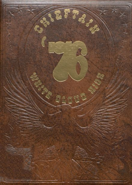 1976 White Cloud High School Yearbook Cover
