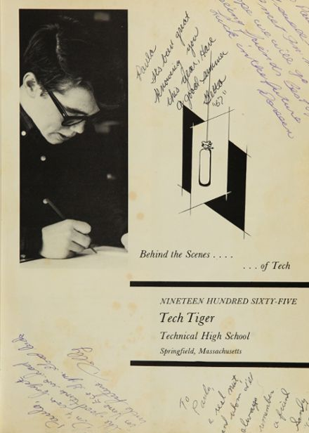 1965 Technical High School Yearbook Page 5