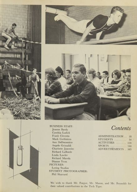 1965 Technical High School Yearbook Page 7