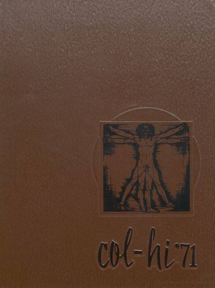 1971 College High School Yearbook Cover