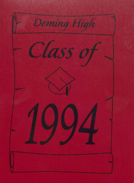 1994 Deming High School Yearbook Cover