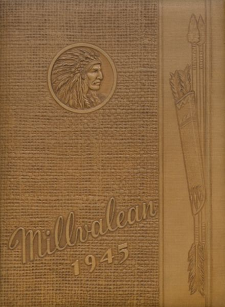 1945 Millvale High School Yearbook Cover
