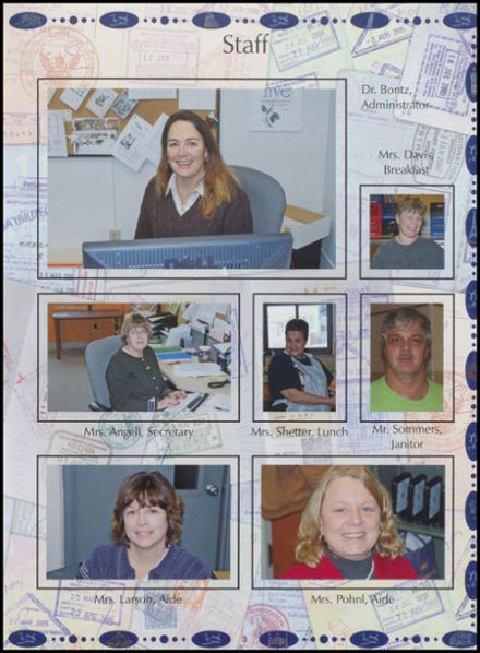 2009 Northwoods Community Secondary School Yearbook Page 7