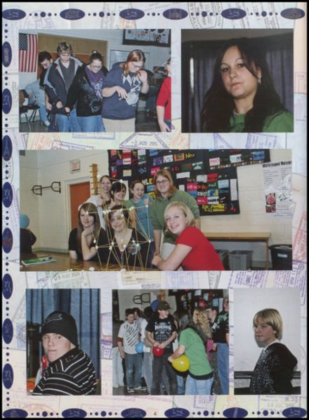 2009 Northwoods Community Secondary School Yearbook Page 8