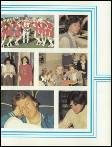 1980 Spring Lake High School Yearbook Page 7