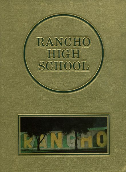 1981 Rancho High School Yearbook Cover