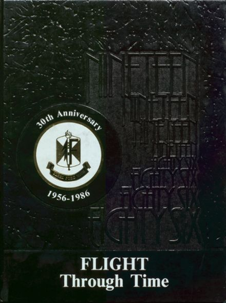 1986 Edsel Ford High School Yearbook Cover