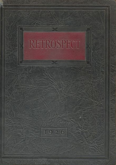 1926 Blume High School Yearbook Cover