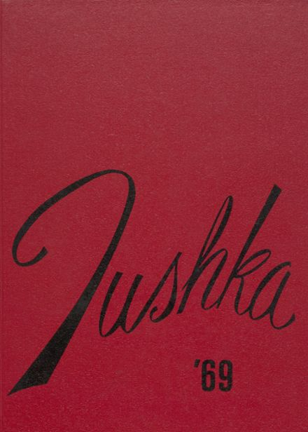 1969 Idabel High School Yearbook Cover