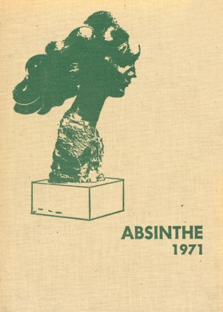1971 Newman High School Yearbook Cover