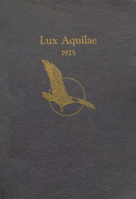 1925 Eagle Rock High School Yearbook Cover