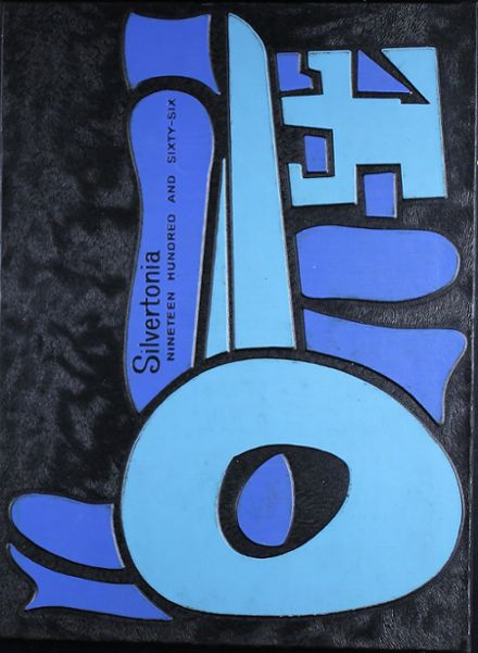1966 Silverton Union High School Yearbook Cover