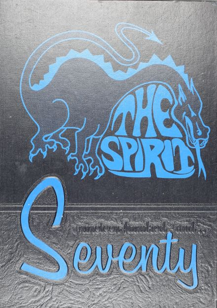1970 Seagoville High School Yearbook Cover