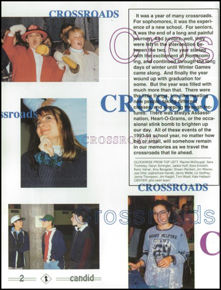 1994 Hopkins High School Yearbook Page 6