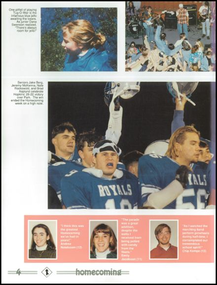 1994 Hopkins High School Yearbook Page 8