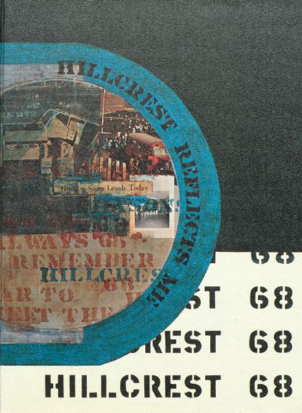 1968 Hillcrest High School Yearbook Cover