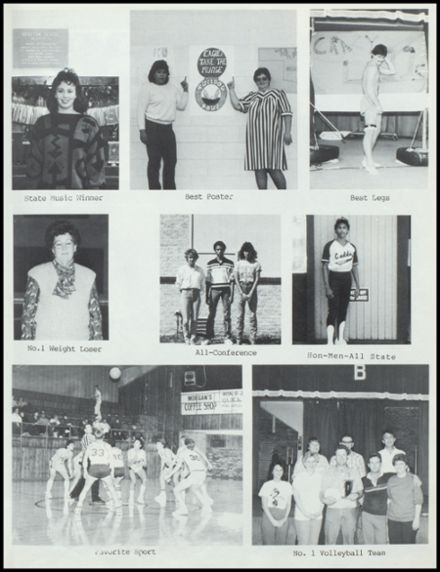 1987 Broxton High School Yearbook Page 7