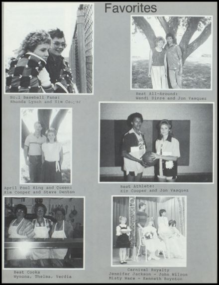 1987 Broxton High School Yearbook Page 8
