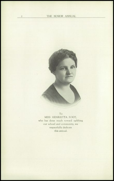 1923 Rome Free Academy Yearbook Page 6