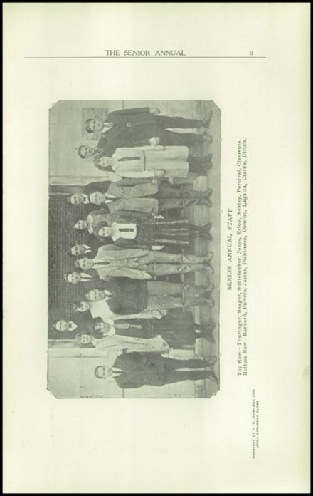 1923 Rome Free Academy Yearbook Page 7