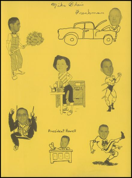 1955 Labette County High School Yearbook Page 3