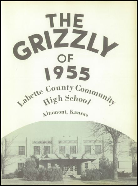 1955 Labette County High School Yearbook Page 5