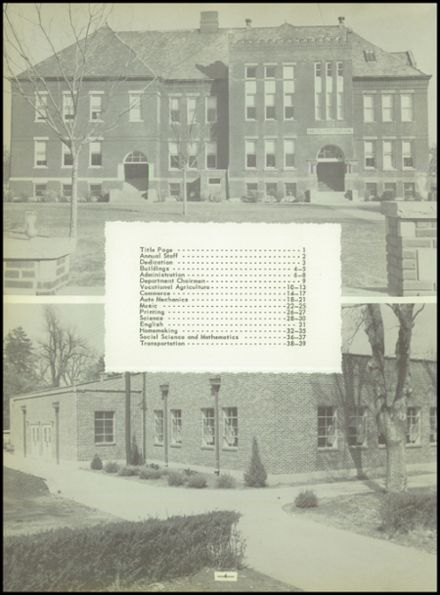 1955 Labette County High School Yearbook Page 8