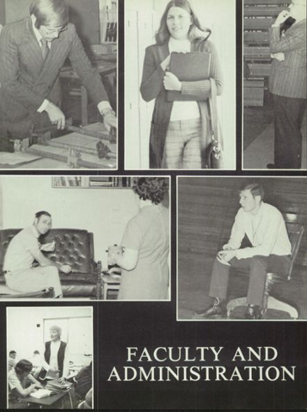 1973 Sturgis Brown High School Yearbook Page 9