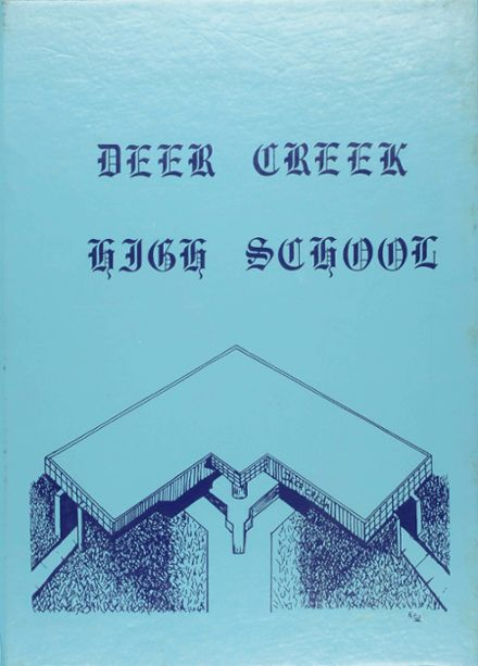 1983 Deer Creek High School Yearbook Cover