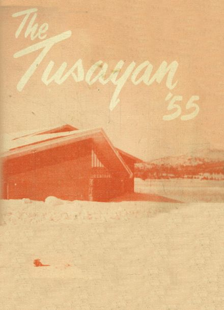 1955 Williams High School Yearbook Cover