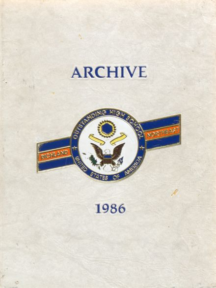 1986 Richland Northeast High School Yearbook Cover
