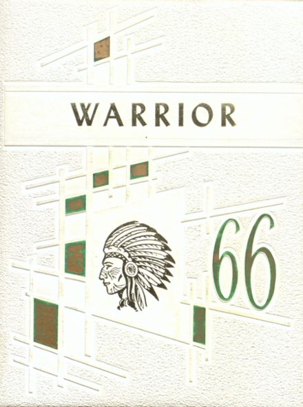 1966 Ohatchee High School Yearbook Cover