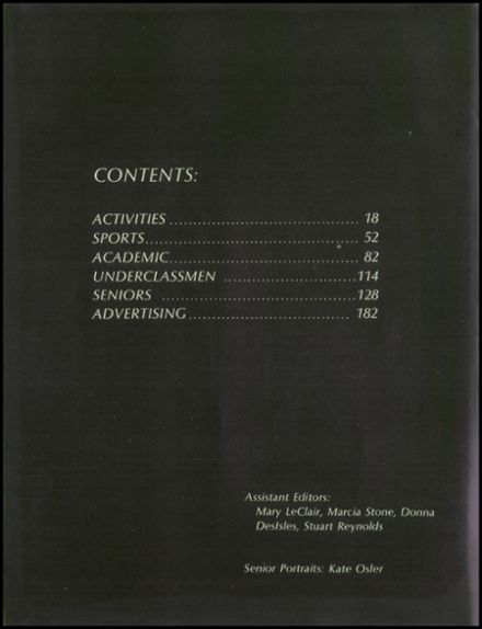 1970 Bangor High School Yearbook Page 8