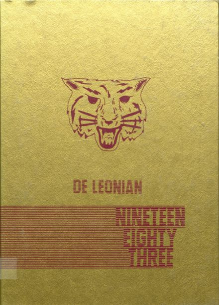 1983 DeLeon High School Yearbook Cover