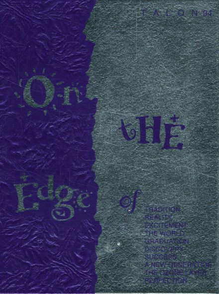 1994 Crowley High School Yearbook Cover