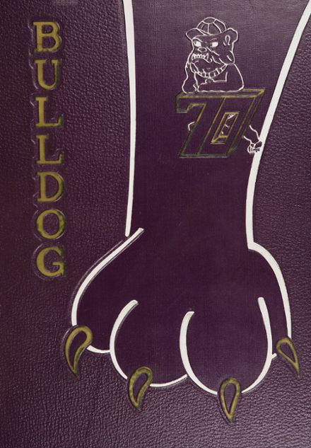 1970 Butte High School Yearbook Cover