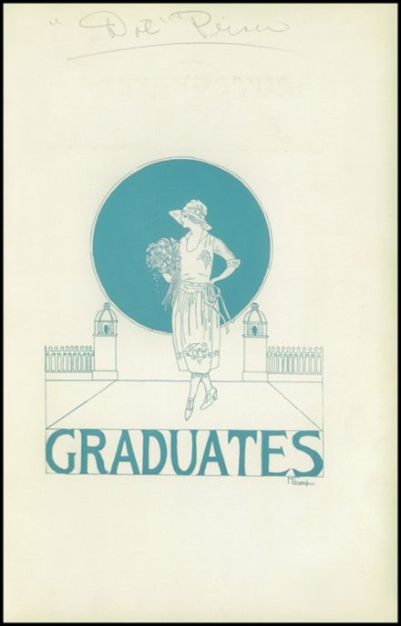 1922 San Jose High School Yearbook Page 9