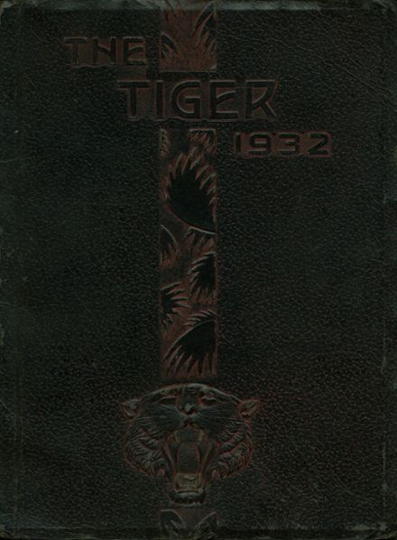 1932 Ripon High School Yearbook Page 1