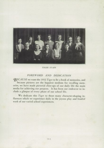 1932 Ripon High School Yearbook Page 9