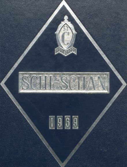 1969 St. Clairsville High School Yearbook Cover