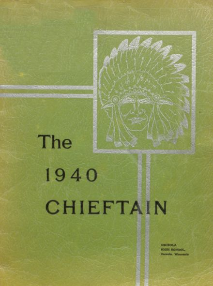 1940 Osceola High School Yearbook Cover