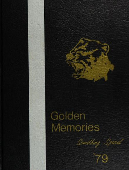 1979 Golden Sierra High School Yearbook Cover